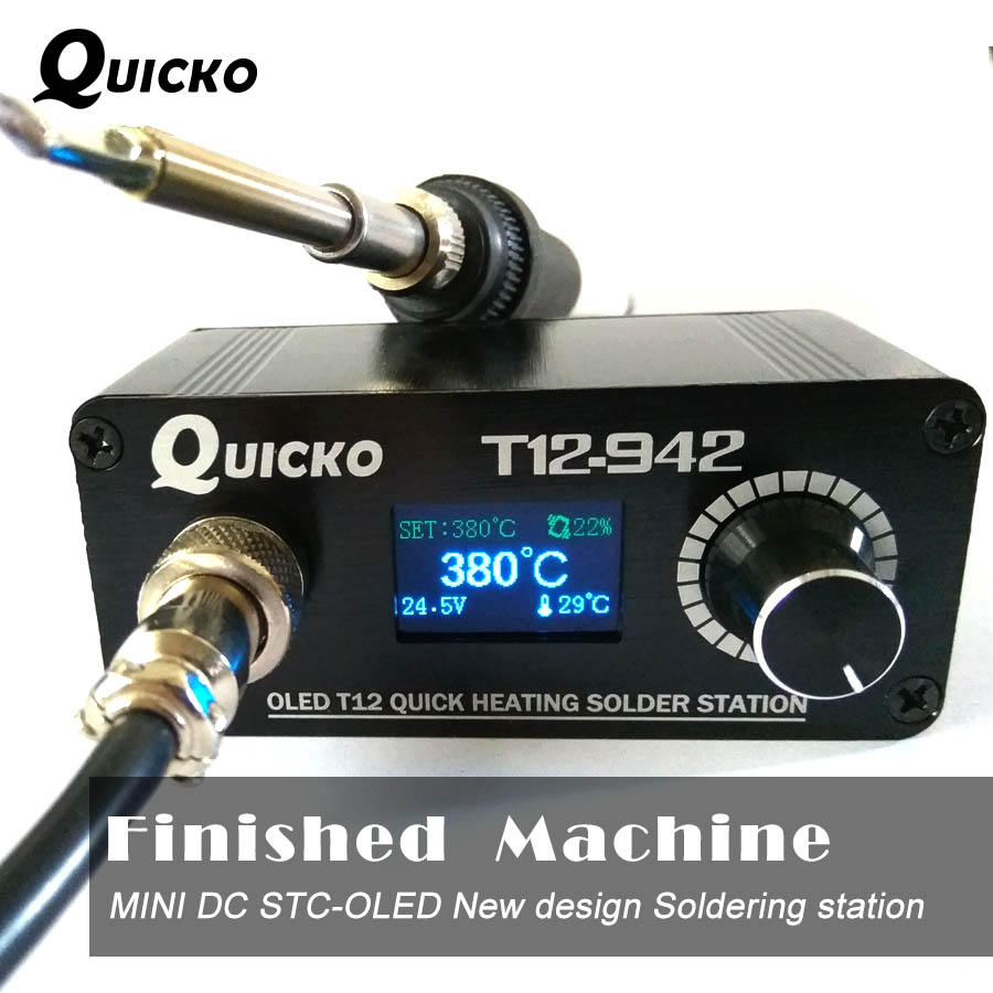 MINI T12 OLED soldering station